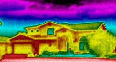 A HomeXray is an Infrared (IR) Thermal Imaging Inspection